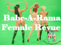 babe-a-rama melbourne female stripper revue for functions