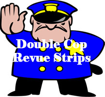 hunkarama double cop male stripper revue night for ladies nights