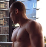 melbourne male topless bar man zander